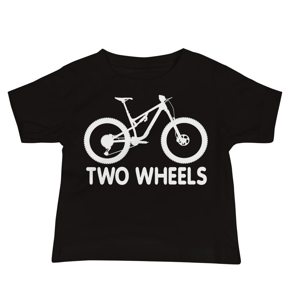 Two Wheels [MTB Baby Tee]