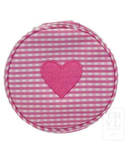 Heart You! (pink gingham round up) - South of Hampton
