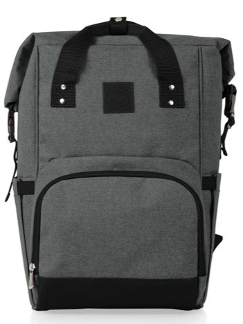 ON THE GO ROLL-TOP COOLER BACKPACK - South of Hampton