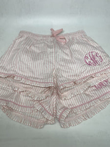 Ruffled Sleep Shorts - South of Hampton