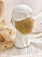 Load image into Gallery viewer, Gold Swarovski Floral