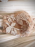 Load image into Gallery viewer, Blush Sequin Embroidered Lace