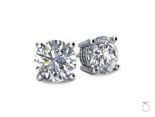 Must-Have Essential #4 Diamond Stud Earrings
