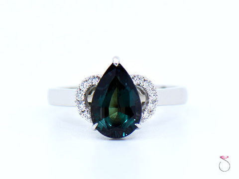 1.72 ct. Natural Alexandrite Designer Ring by Van Klaren With Gubelin Report