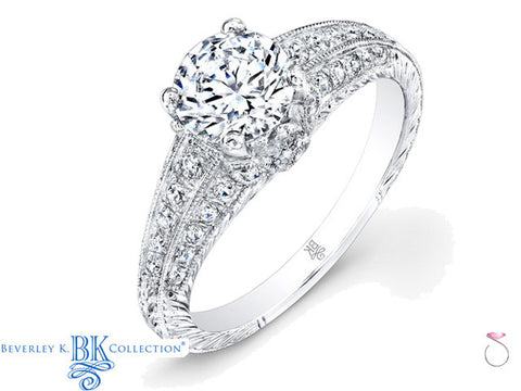 Beverley K Diamond Solitaire Engagement Ring 0.39ct in 18K