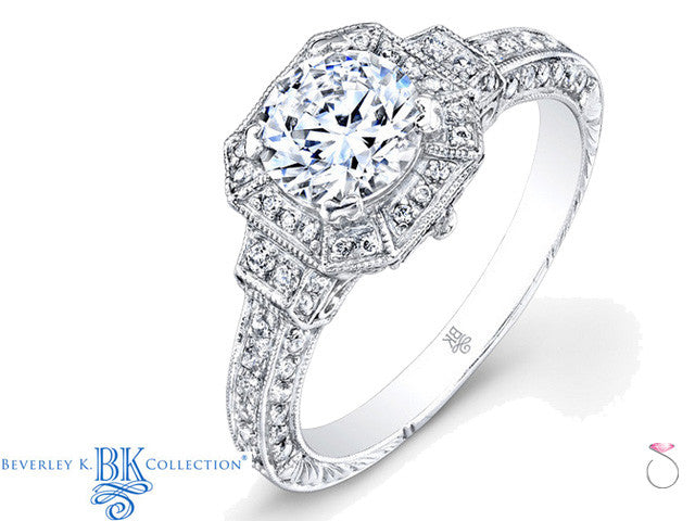 Beverley K Diamond Ring 0.41ct in 18K R367AD