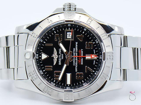 BREITLING Avenger II GMT Ref. A32390 Automatic 43mm Men's Watch