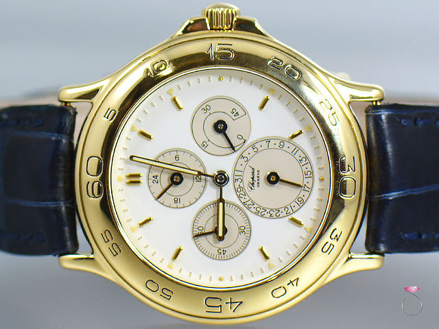 Chopard Mille Miglia 18k Yellow Gold Unisex Watch. Ref. 1182