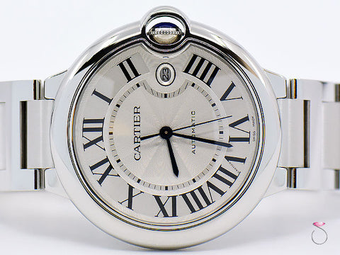 Cartier Ballon Bleu 42MM Stainless Steel 3765 Automatic Watch
