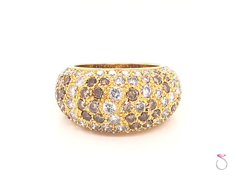 Cartier Sauvage Diamond Dome 18K Ring