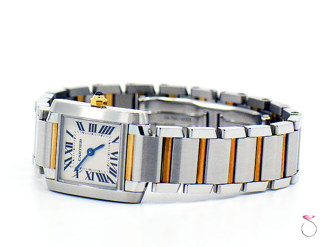 d4f47a5f7685e Cartier Tank Francaise Ref. 2384 18K Yellow gold & Stainless Steel ...