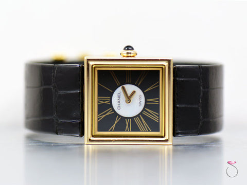 Chanel Mademoiselle 18K Yellow Gold Ladies watch