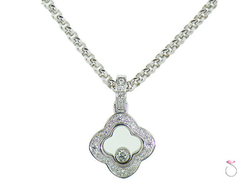 Chopard Happy Diamonds Icons Pendant in 18K White Gold