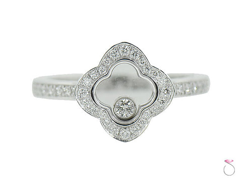 Chopard Happy Diamonds Icons Ring 18K White Gold