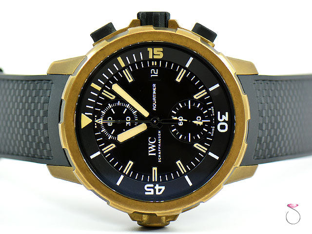 IWC Aquatimer Chronograph Expedition Charles Darwin 44mm Mens Watch IW379503