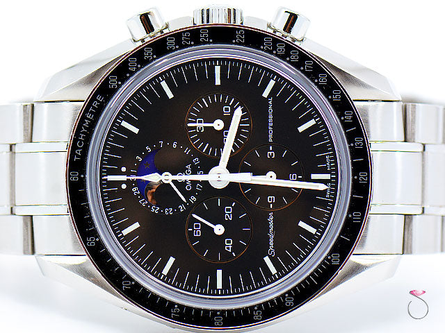 Omega Speedmaster Professional Chronograph Moonphase Moon Watch, 42mm 3576.50.00
