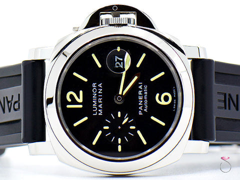 PANERAI LUMINOR MARINA PAM 104 AUTOMATIC WATCH, LIMITED EDITION