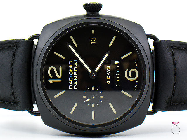 Panerai PAM 384 Radiomir 8-Days Manual 45 mm Ceramic PAM00384
