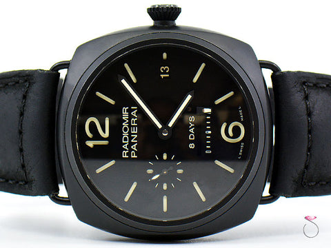 Panerai PAM 384 Radiomir 8-Days Manual 45 mm Ceramic