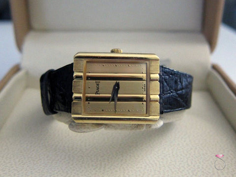 Piaget 18k Yellow Gold Polo Ladies Watch