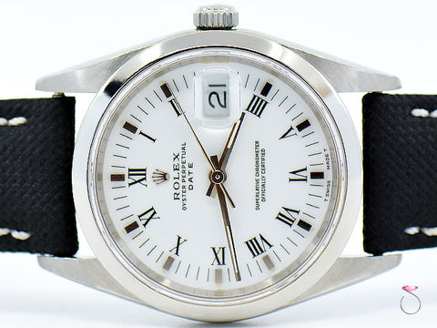 Rolex Oyster Perpetual Date Ref. 15210 Stainless Steel
