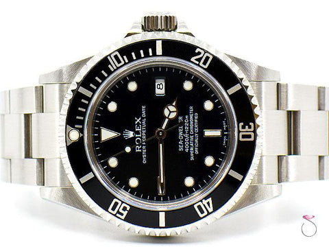 Rolex Sea-Dweller 16600 Stainless Steel 40 mm, 4000 ft Divers Watch