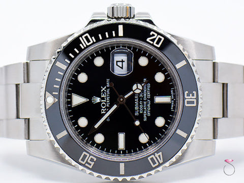 ROLEX SUBMARINER 116610 STAINLESS STEEL, CERAMIC BEZEL