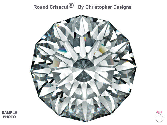 Christopher Designs Crisscut Round Diamond online sale