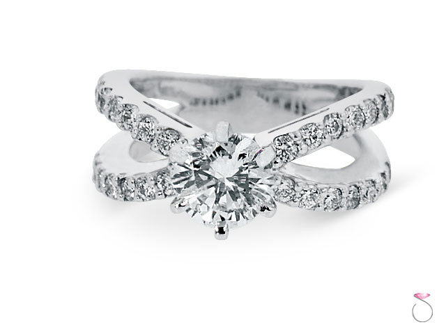 Split shank engagement ring Hawaii online sale