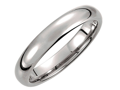 Tungsten 4.3mm Domed Band