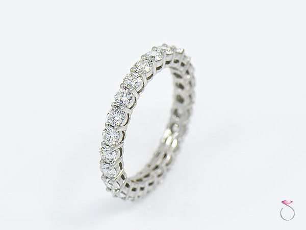 72a177b68 Tiffany & Co. Embrace Diamond Platinum Eternity Band – SBEJ