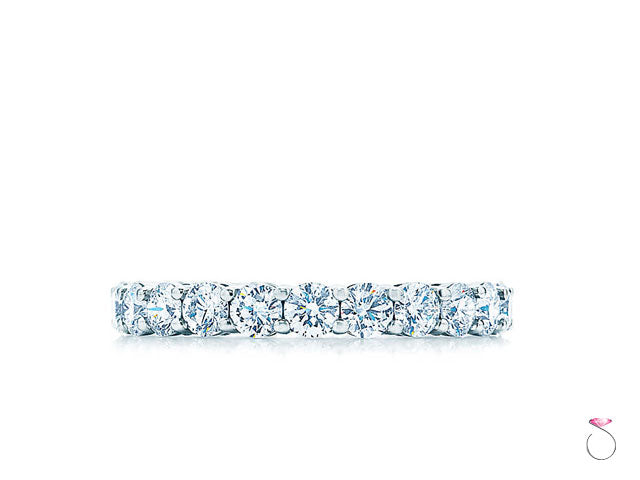 Tiffany & Co. Embrace Diamond Platinum Eternity Band