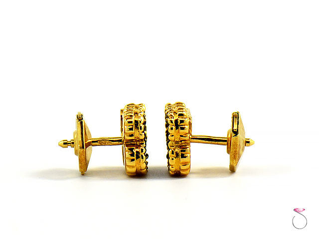4931222ce82e Van Cleef   Arpels Sweet Alhambra Onyx Stud Earrings