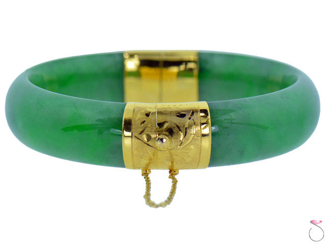 Vintage Apple Jade Bracelet online sale Hawaii