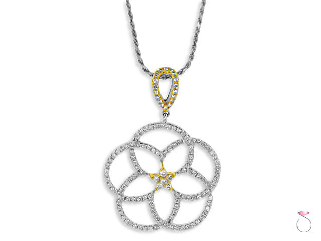 Diamond Pentagram Pendant Hawaii
