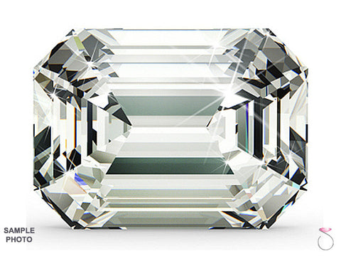 1.05 carat I VVS2 Emerald cut Diamond GIA Certified