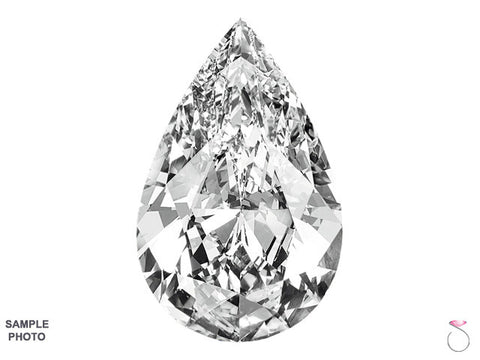 Pear Shape Diamond EGL USA Certified 2.01ct F-SI2