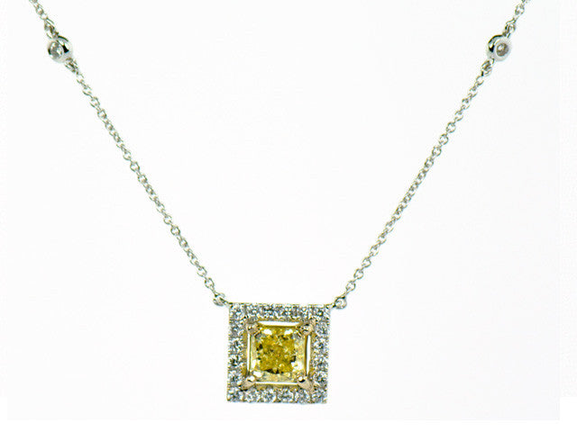 Yellow Diamond Pendant Hawaii