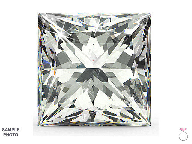 Princess cut Diamond GIA Certified