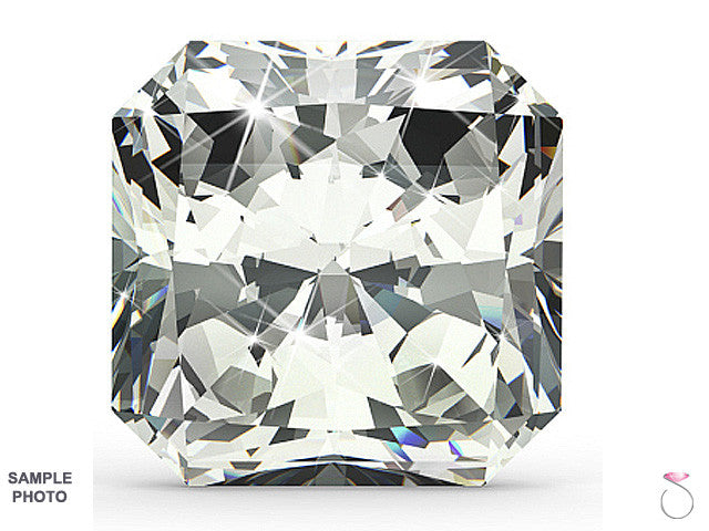 Radiant cut diamond in Hawaii 1.04 carat