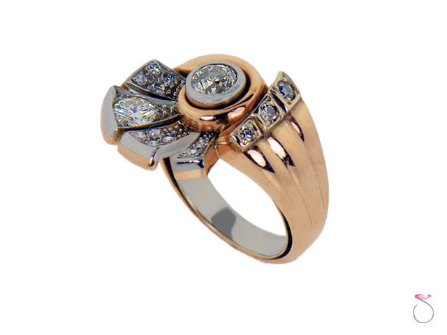 Retro estate diamond ring for sale