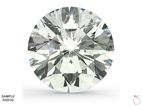 Round Brilliant Cut Diamond GIA Certified 0.90ct H-VS2