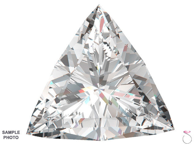 Triangle cut 3.0 carat diamond online sale