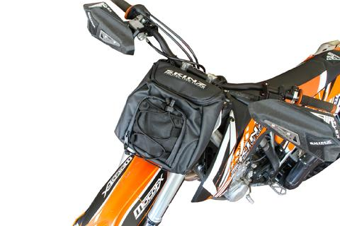 Snow Bike Front Handlebar/Number Plate Bag