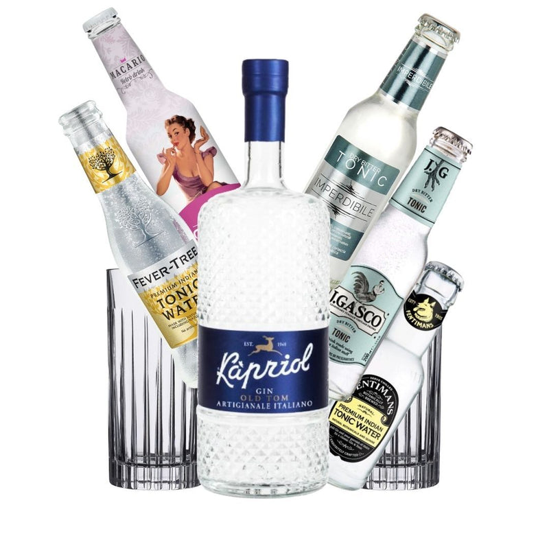 GinTonic Kit Kapriol Old Tom Gin 70cl + 4x Tonica + OMAGGIO (5138483937415)