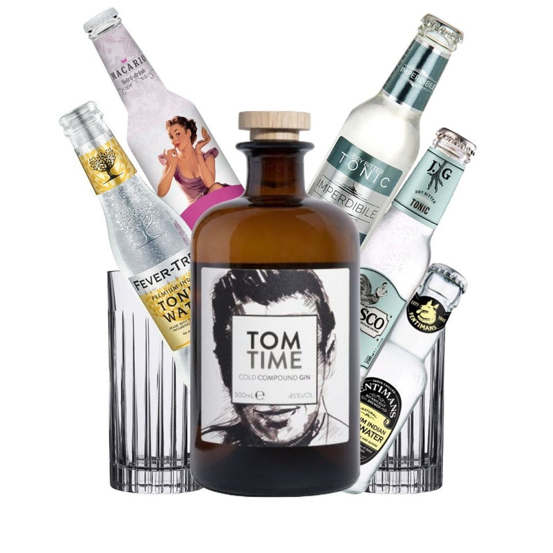 GinTonic Kit Tom Time Gin 50cl + 4x Tonica + OMAGGIO (5138484265095)