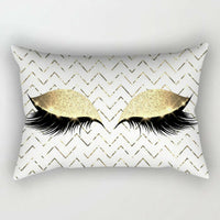 Creative Eyelash Cotton Cushion-thumbnail