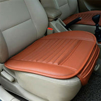 PU Leather Car Front Seat - Cushion Protector-thumbnail