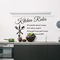 Removable Kitchen Wall Design Stickers - Home Decor-thumbnail