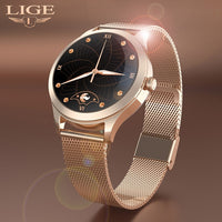 LIGE New Women Smart Watch Woman Fashion Watch Heart Rate Sleep Monitoring For Android IOS IP68 Waterproof Ladies Smartwatch+Box-thumbnail